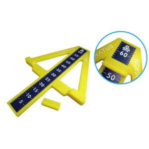 箭頭型坐姿體前彎測定器