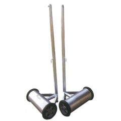 滾筒式羽球柱