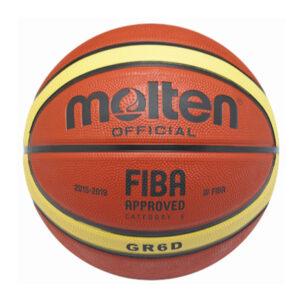 Molten BGR6D-YBW 橡膠籃球